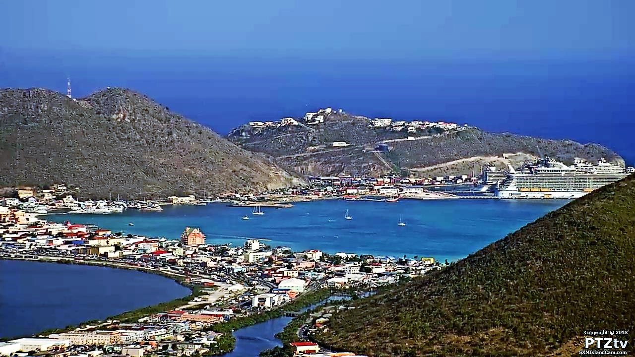 SXM Island Cam - PTZtv Live Streaming from St  Maarten & St